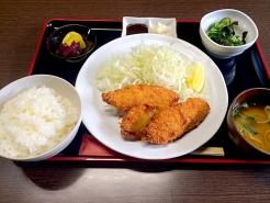 魚フライ定食 650円