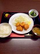 唐揚げ定食  650円