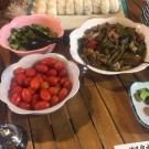 ご自由にお召し上がりいただける季節野菜料理
