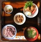 古代米定食