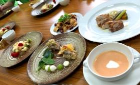 全5皿のイタリアンコースをご用意いたしました。