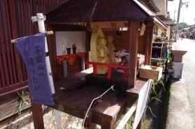 日本まんが昔話にも登場した、土井地区の芋岡山の『身代わり観音様』のカラクリもありました。