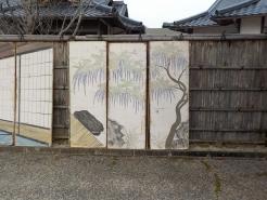 仮称 庭園の藤図