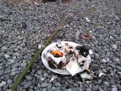 炎で暖を取りながら、お餅を焼いたり、ミカンを食べたりして過ごす時間。ごちそうさまでした。