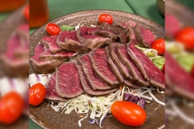 新庄産和牛ローストビーフを食べる会