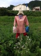 第三位の「チア農婦」さん。よく見ると、新しいボンボンに変わっておりました。